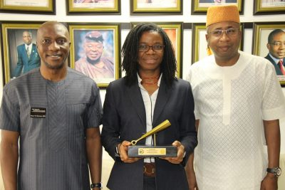 Photo News: NIPC CEO Visits Nigerian Stock Exchange, Performance Closing Gong Ceremony