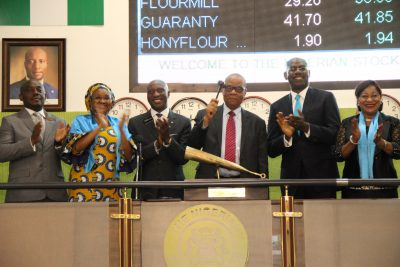 Photo News: Union Bank Performs Closing Gong Ceremony On NSE