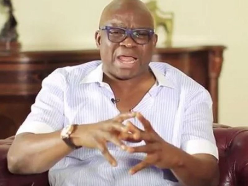 FG Lied About Govs' $1bn Donation To Anti-Boko Haram War, Says Fayose
