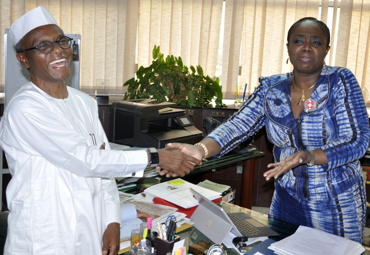 Photo News: el-Rufai Visits Adeosun, Finance Minister In Abuja