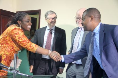 Photo News: Finance Minister, Gates Foundation, Meet On Vaccine Financing For Nigeria