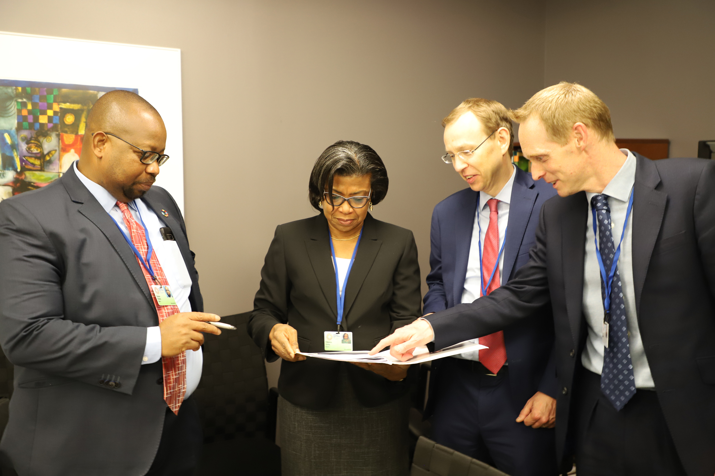 Photo News: DMO, Fitch Ratings Officials Parley At Washington D.C.
