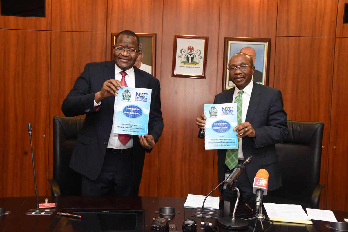 Cashless Banking: CBN, NCC Seal Deal To Enhance Mobile Payments