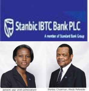 Stanbic IBTC Nets N18.89bn 2015, Offers 5 Kobo From N1.55 EPS