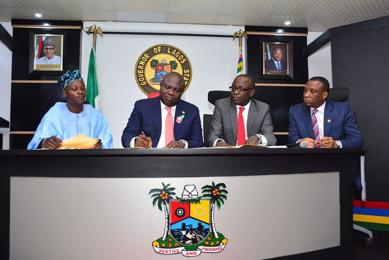 Photo of Ambode Signs N812.998bn Lagos 2017 Budget Into Law