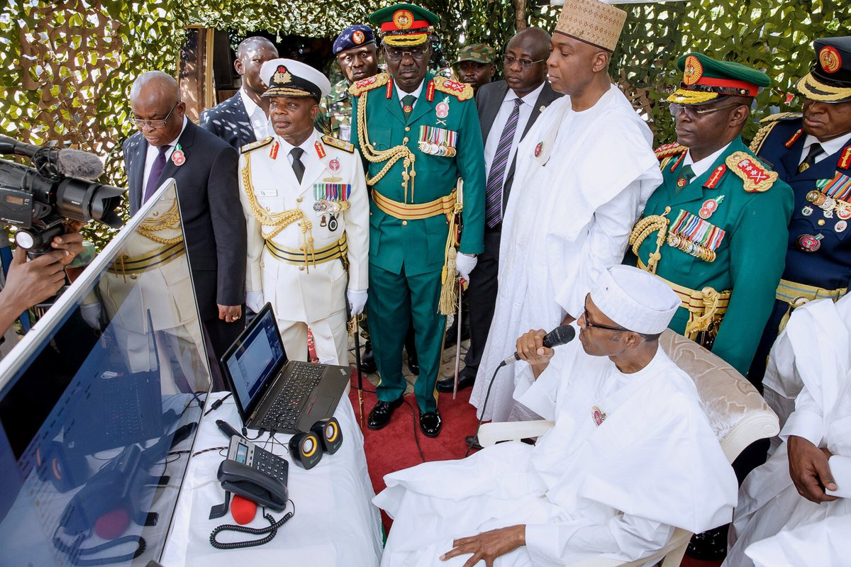 Photo of Armed Forces Remembrance Day: Buhari In Video-call with troops in Sambisa Forest on Sunday