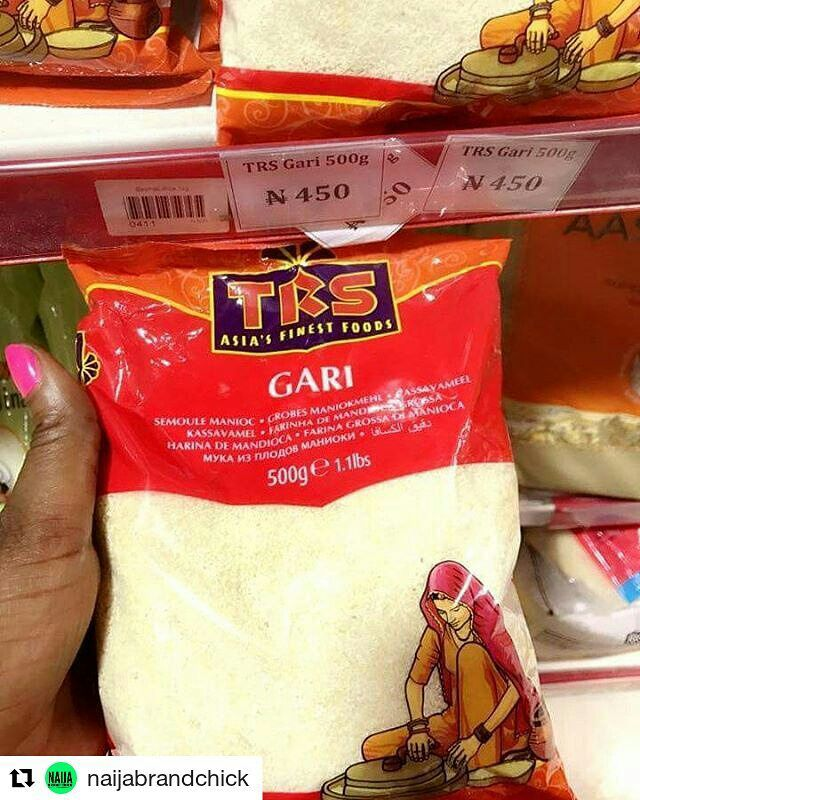 "Photo of @NafdacNigeria Confiscates Packets Of ""India Garri"" From Supermarket In Ikoyi, Lagos"