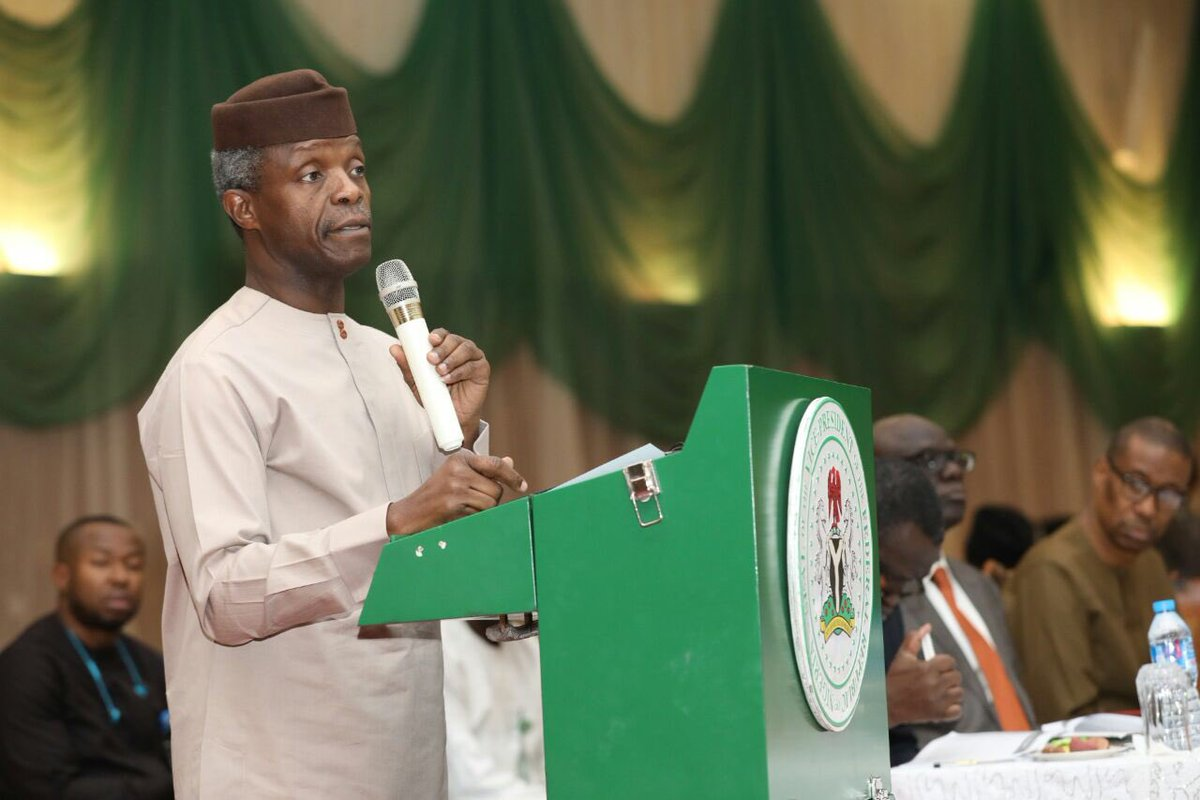 Photo of Again, Presidency Blames Weather, As Osinbajo Fails To Visit Ondo