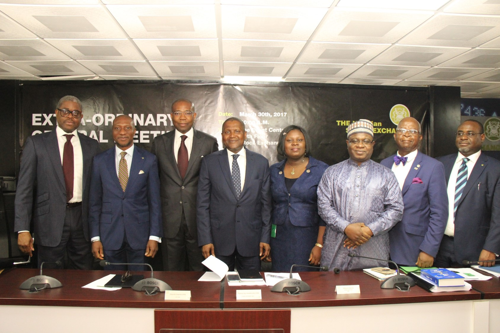 Photo of PhotoNews: NSE Council Members After The EGM #Demutualisation