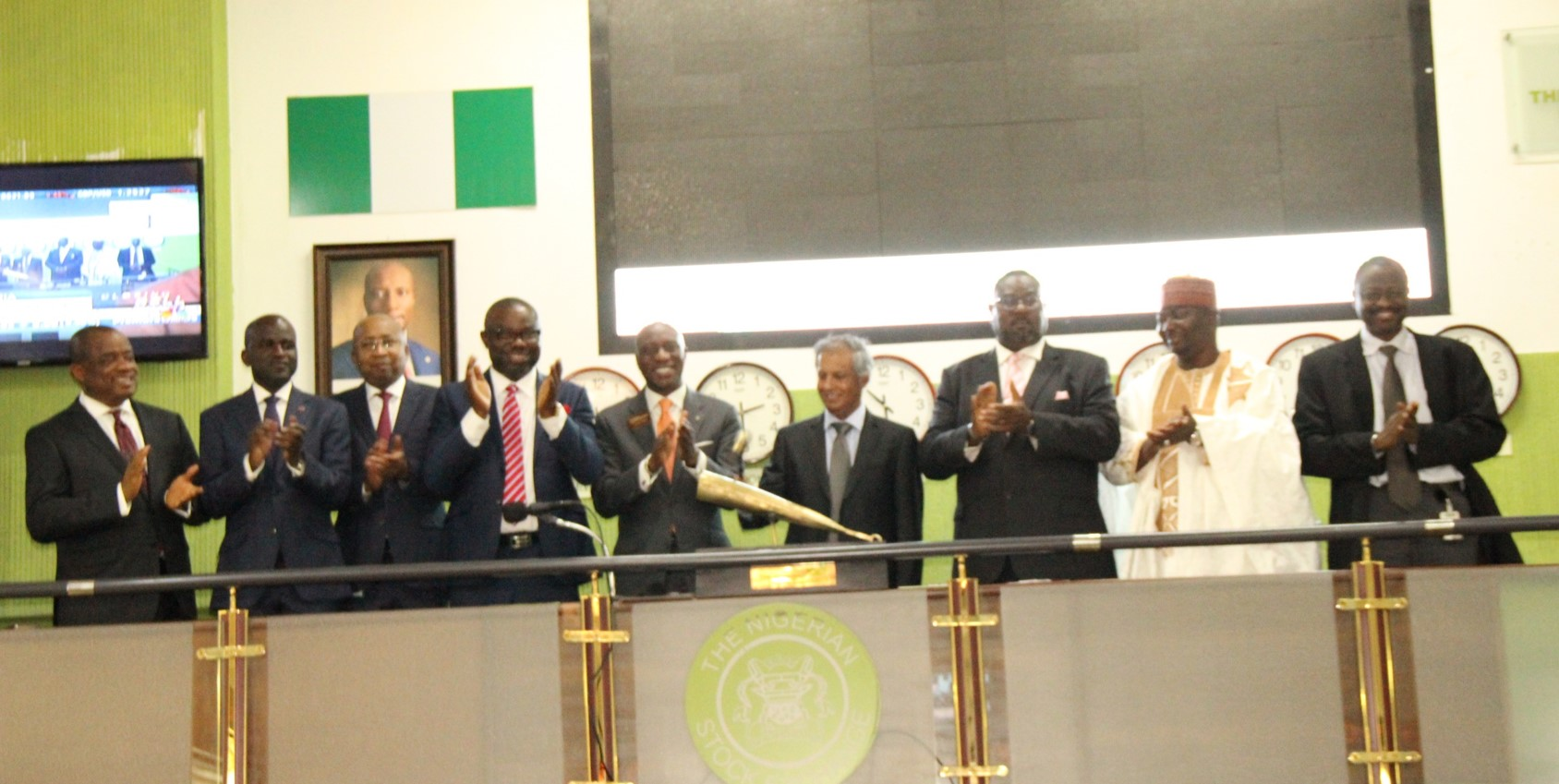 Celebrating Mobil/NIPCO Deal On Nigeria's Exchange