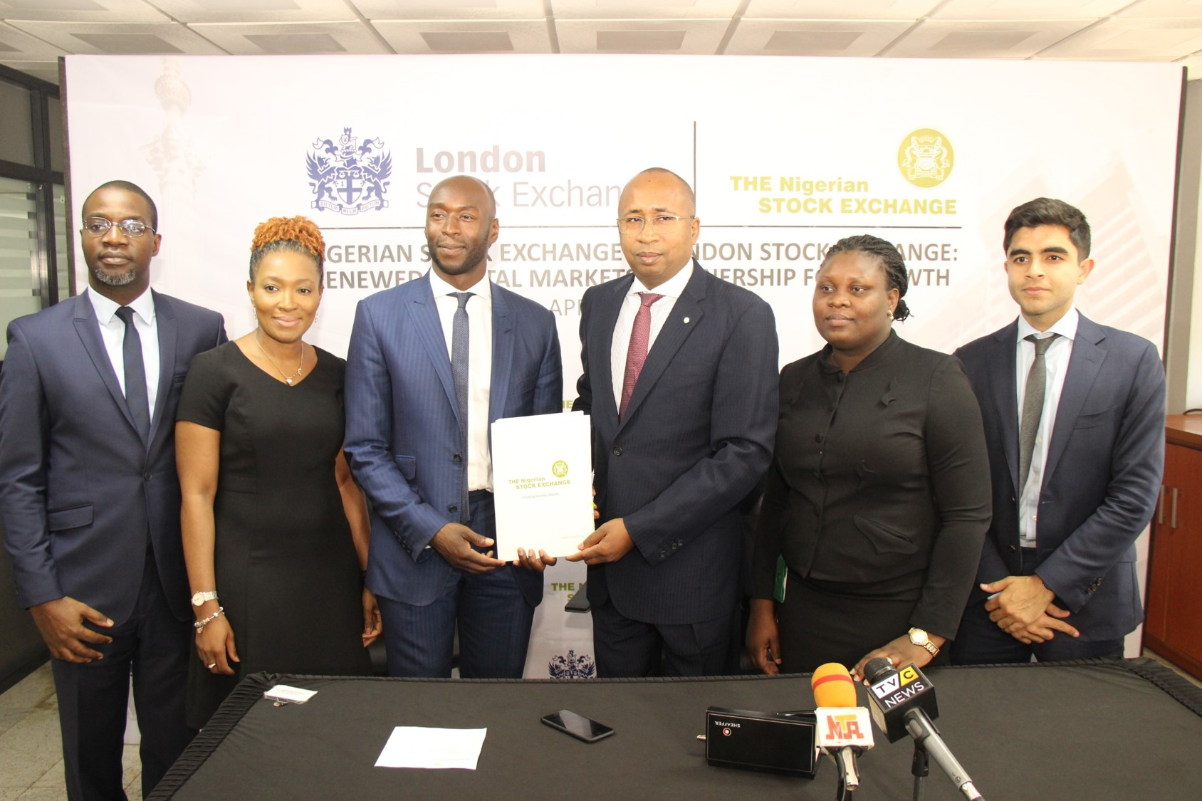 Photo of Photo: Nigerian, London Stock Exchange Renew Partnership For Growth