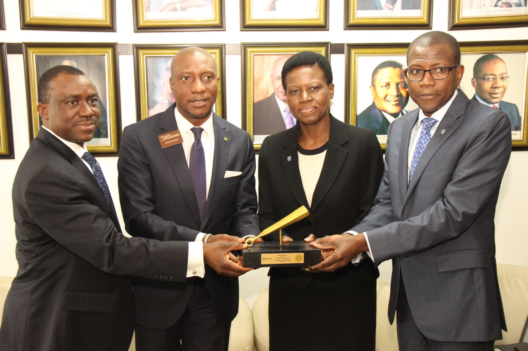 Photo of Photostory: Executives of Stanbic IBTC Holdings Visit @NSEContact