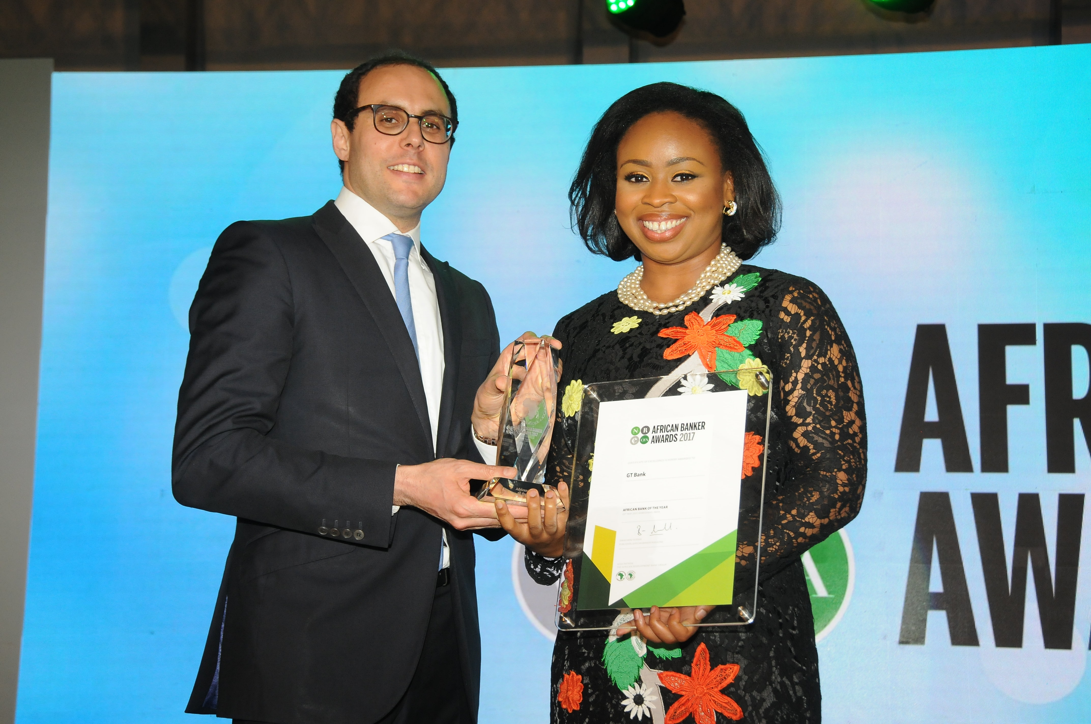"""With 37% Net Profit Rise, GTBank Wins """"Bank of the Year"""" At African Banker Award"""