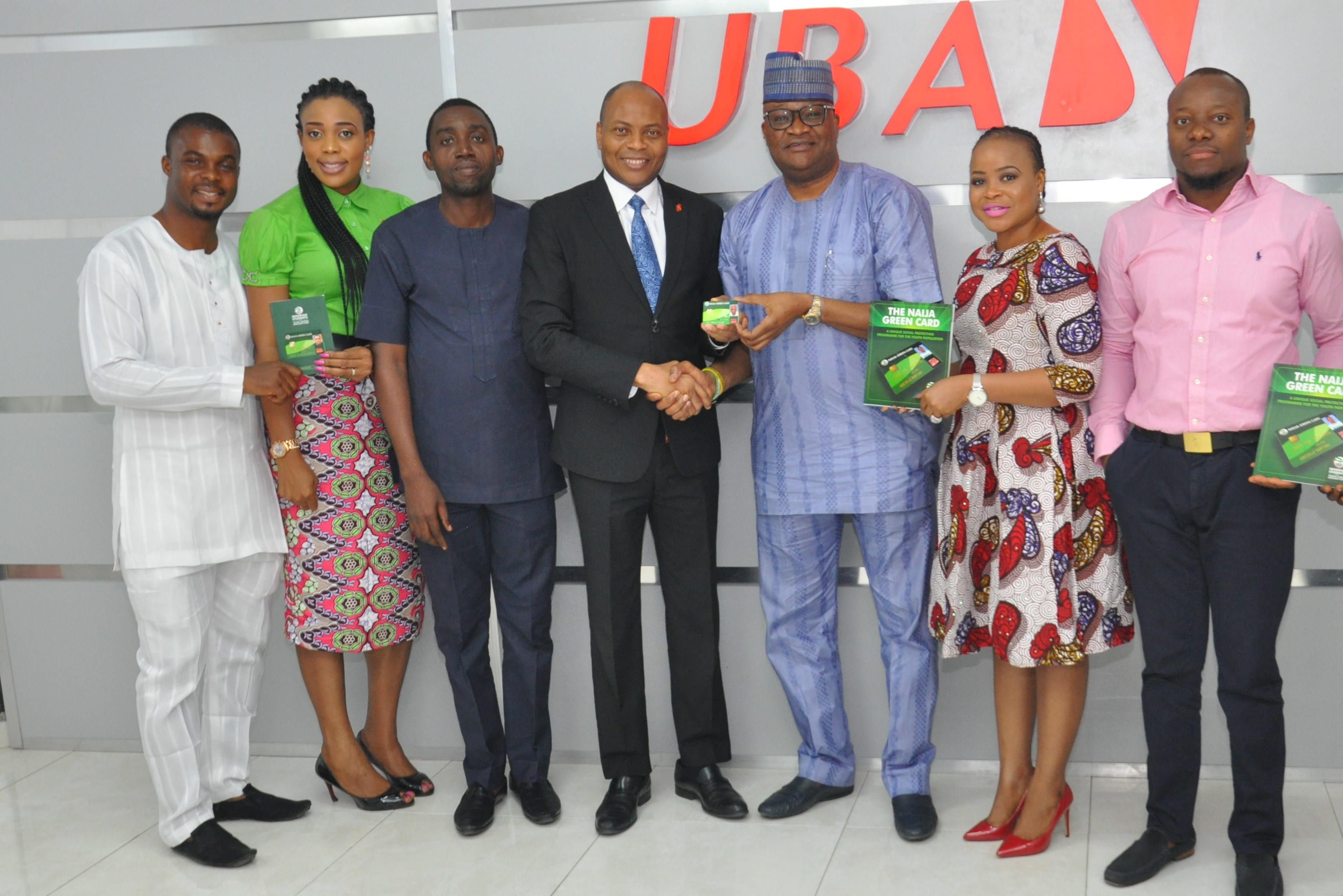 Photo of Firm Unveils Naija Green Card For Youths Using UBA Digital Platforms