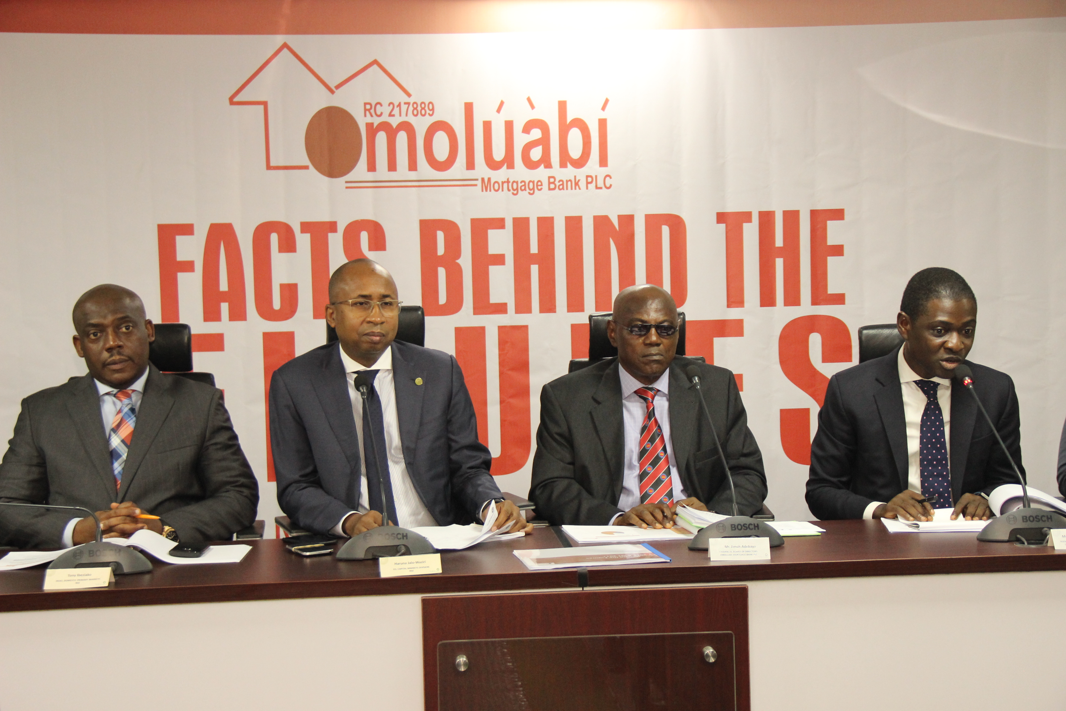 Photo of (Pix) Omoluabi MFB Meets Stock Market Stakeholders, Presents Facts-Behind-Figures