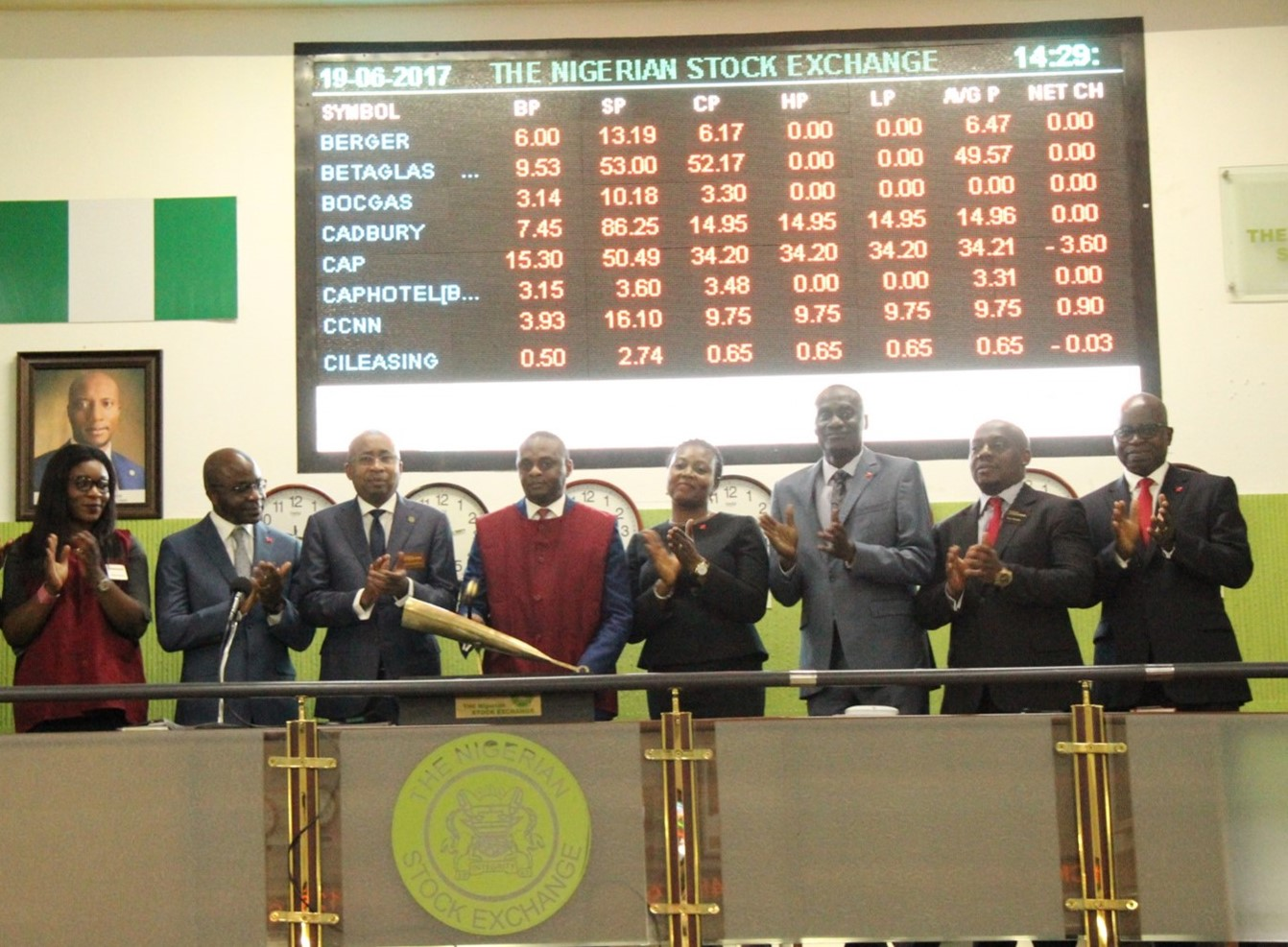 Photo of (Photo News) NSE Lists United Capital Eurobond, Wealth for Women Funds