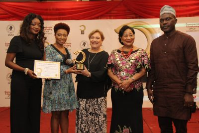 (Photo News) NSE Emerges Best 'CSR Company' At 2017 LCCI Award Ceremony
