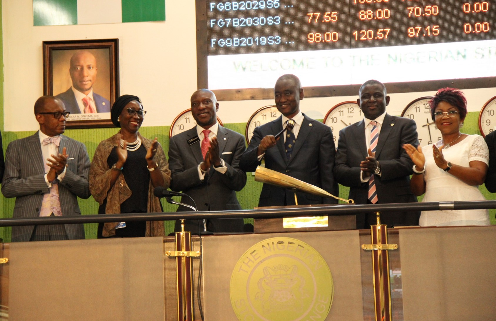 Photo of 57th Annual Conference: NBA President, Team, Visit NSE For Closing Gong Ceremony