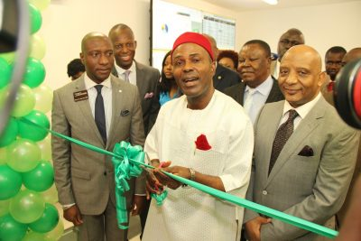(Photo News) Science & Technology Commissions Nigerian Stock Exchange Data Centre In Lagos