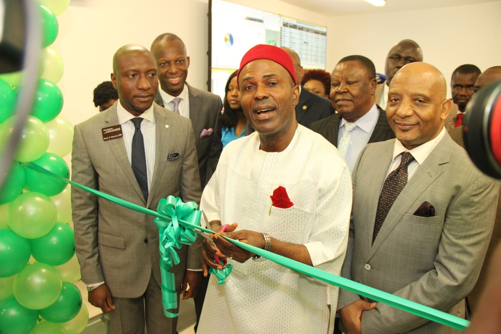 Photo of (Photo News) Science & Technology Commissions Nigerian Stock Exchange Data Centre In Lagos