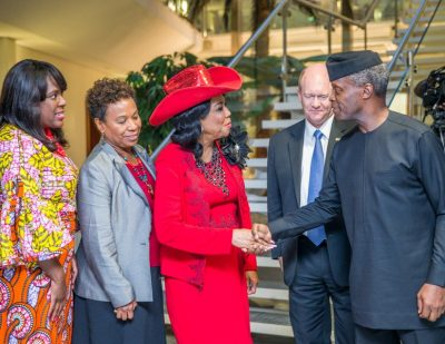 Nigeria, U.S Partnering To Repatriate Proceeds Of Corruption, Crime, Says Osinbajo