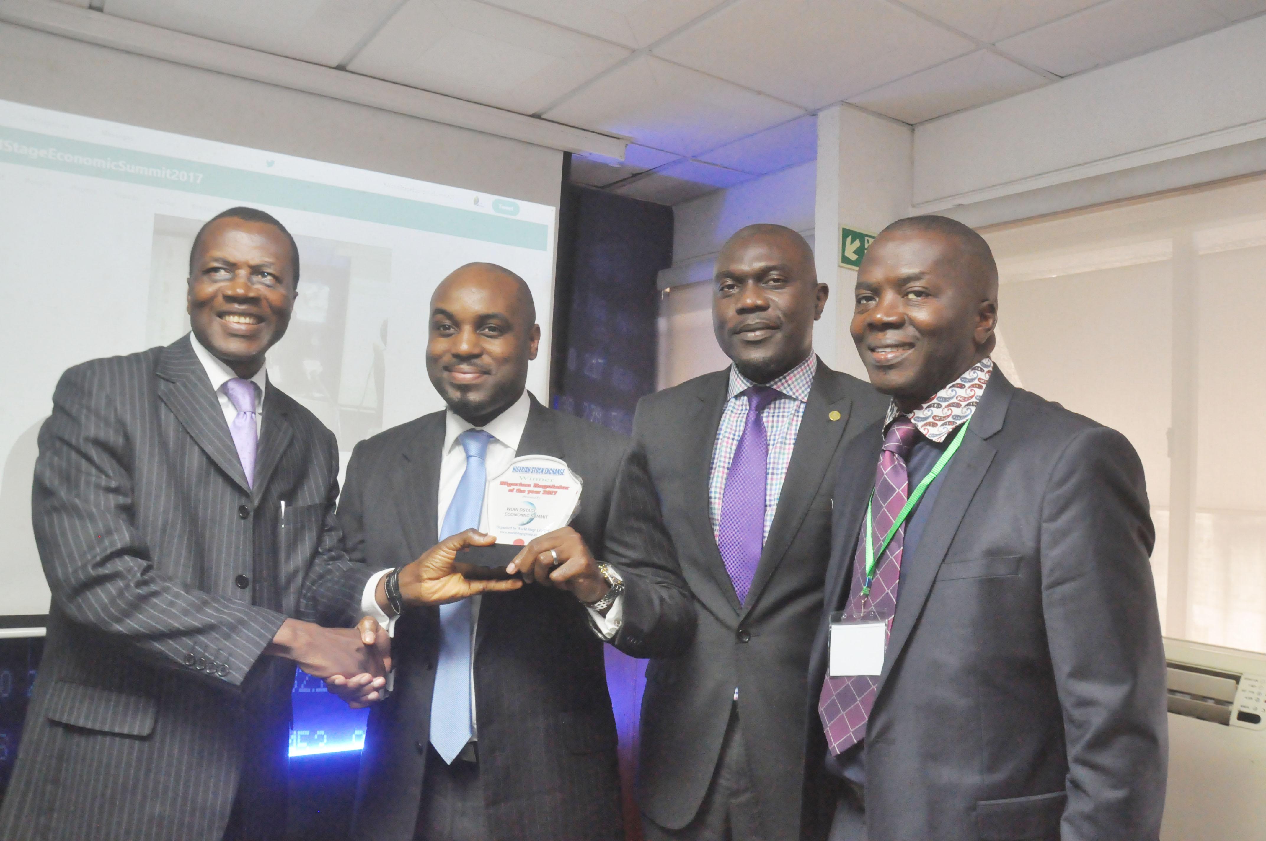 NSE Emerges Nigeria's Regulator Of The Year 2017