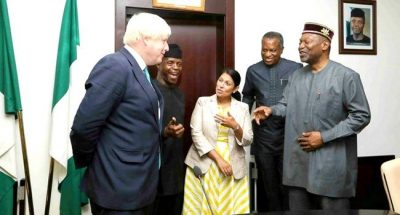 Nigeria Ready To Partner UK Investors, Says Osinbajo