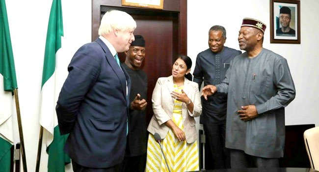Photo of Nigeria Ready To Partner UK Investors, Says Osinbajo