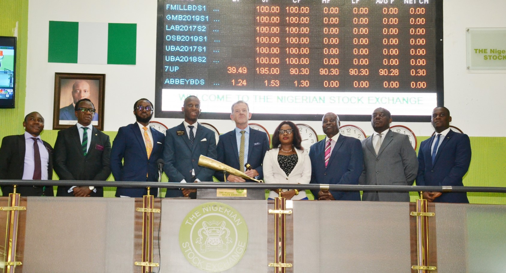 Photo of Nigerian Bourse Signs Agreement with Continental Broadcasting Service