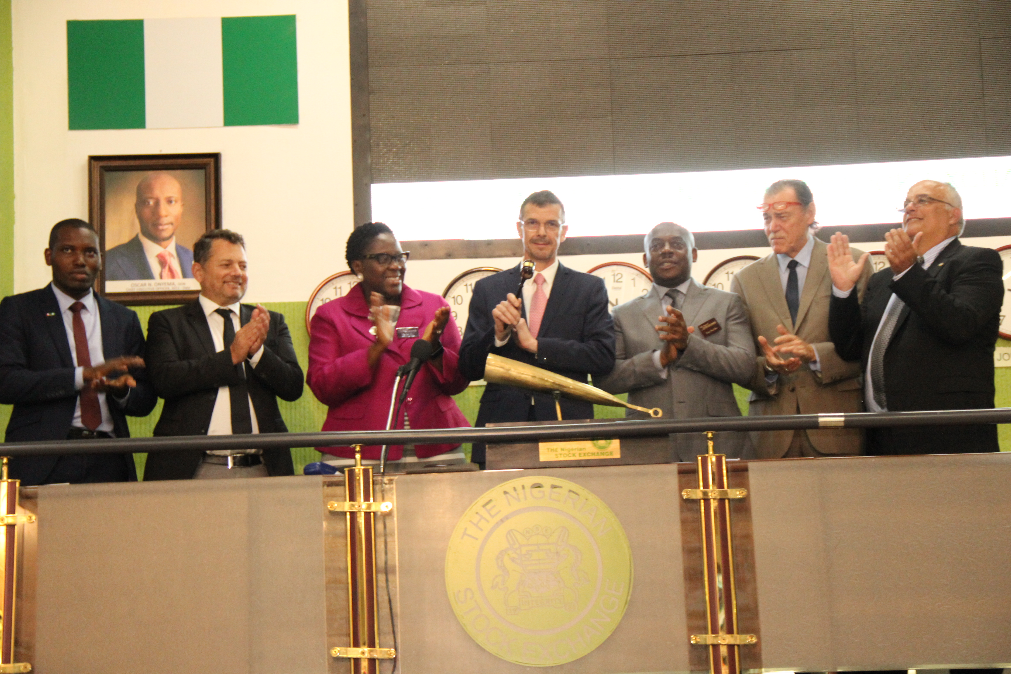 Photo News: Franco-Nigerian Chamber Officials Visit NSE