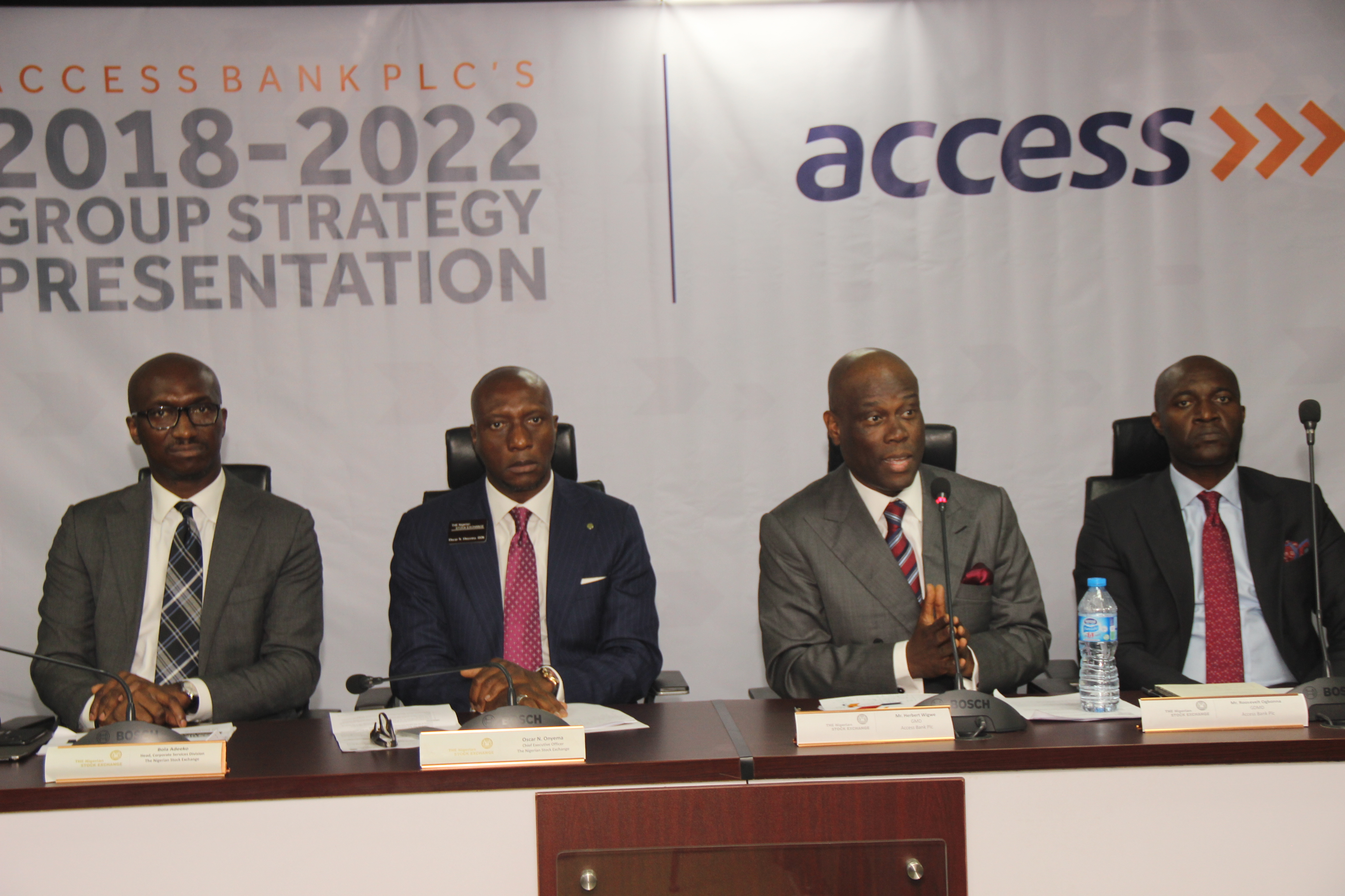 Photo News: Access Bank unveils 2018-2022 Strategy Plan To Stakeholders