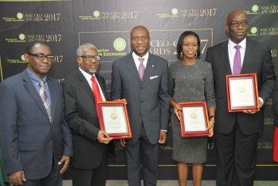 Dangote Cement, Others Shine At 2017 NSE CEO Award