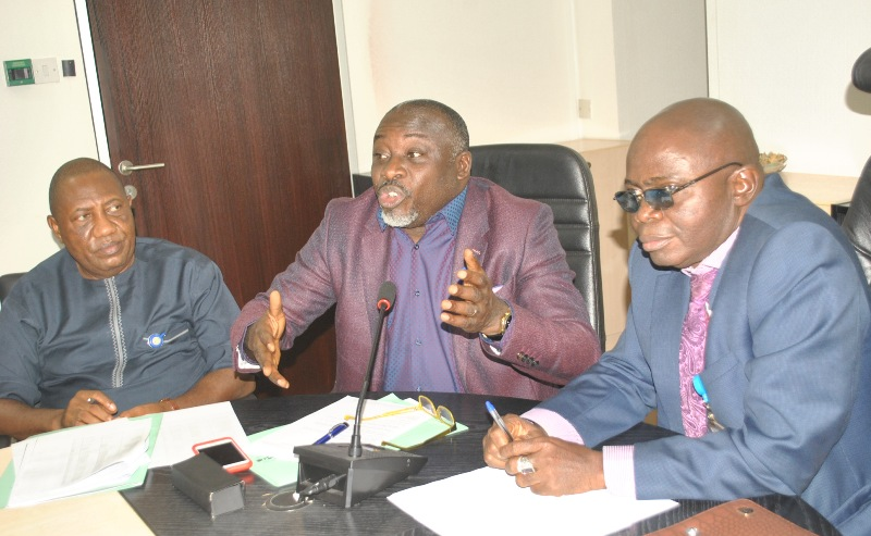 (Photo News) Reps Capital Market Committee Visits SEC On Oversight Function