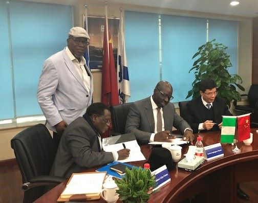 Edo, China Harbour Sign MoU To Develop Gelegele Seaport