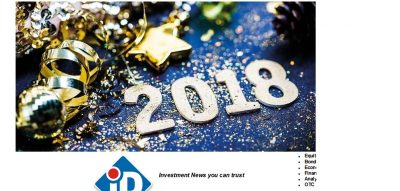 Happy New Year 2018 From All Of Us @Investdata1 News
