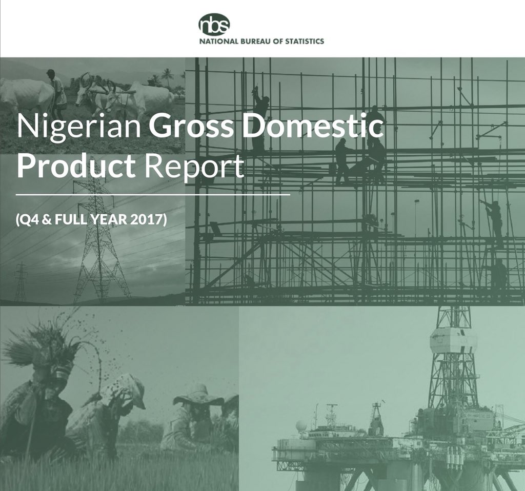 Photo of Non-oil Continues To Under-perform, As Oil Lifts Nigeria's 2017 GDP To 0.83%