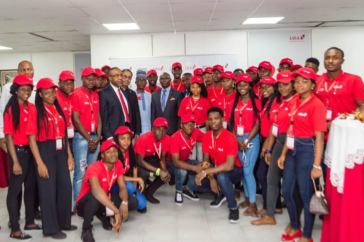 Photo News: UBA Unveils Campus Ambassadors In Lagos