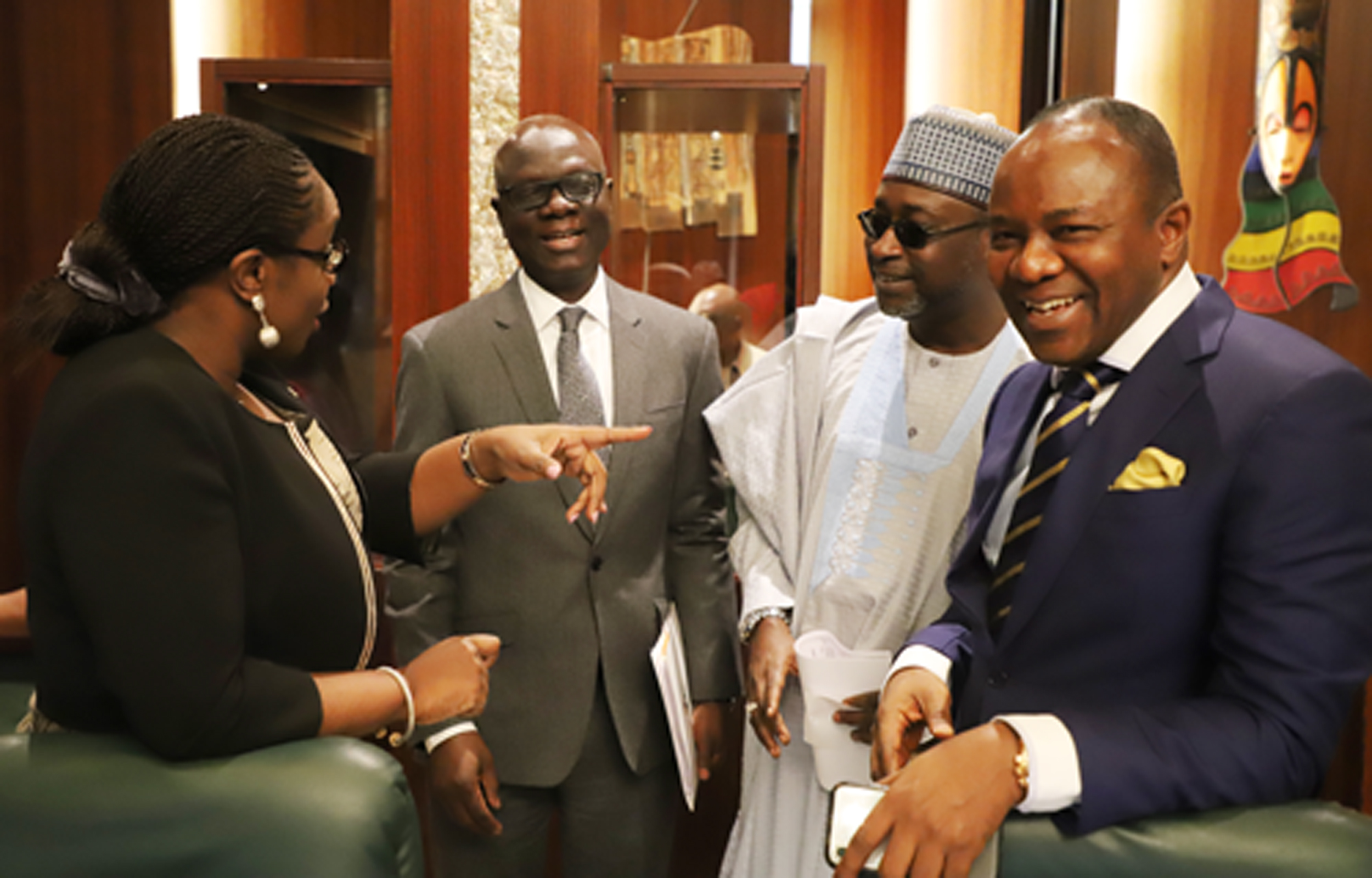 Photo News: Ministers Discussing During Federal Executive Council In Abuja