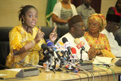 Photo News: Adeosun Speaking At Quarterly Media Briefing In Abuja