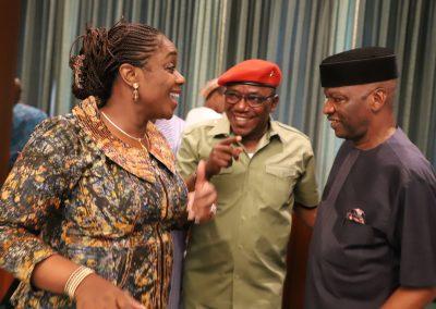Photo News: Adeosun, Lalong, Onwuka At FEC Meeting On Wednesday