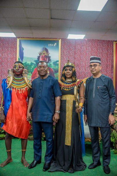 Photo News: UBA Staff Celebrate Africa Day In Lagos