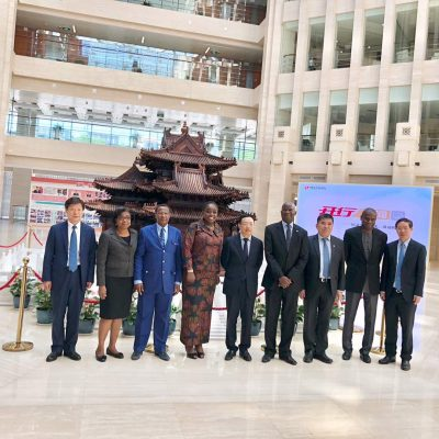 Photo News: Adeosun, Fashola Meet China Devt Bank Officials On Infrastructure Funding