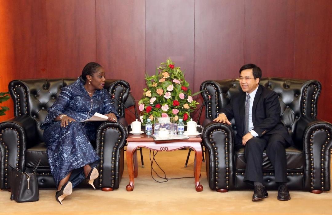 Photo of Photo News: Adeosun Meets China EXIM Bank President