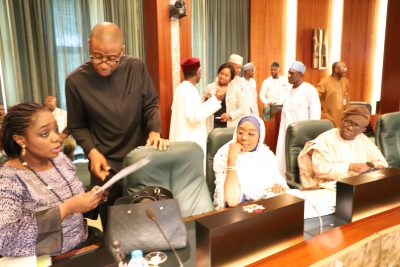 Photo News: Nigeria's Finance Minister, Others At Weekly FEC Meeting