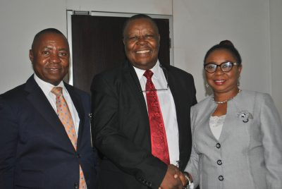 Photo News: Stockbrokers Group Meets Acting SEC DG In Abuja