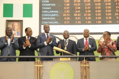 Photo News: CIBN President Sounds Closing Gong On NSE