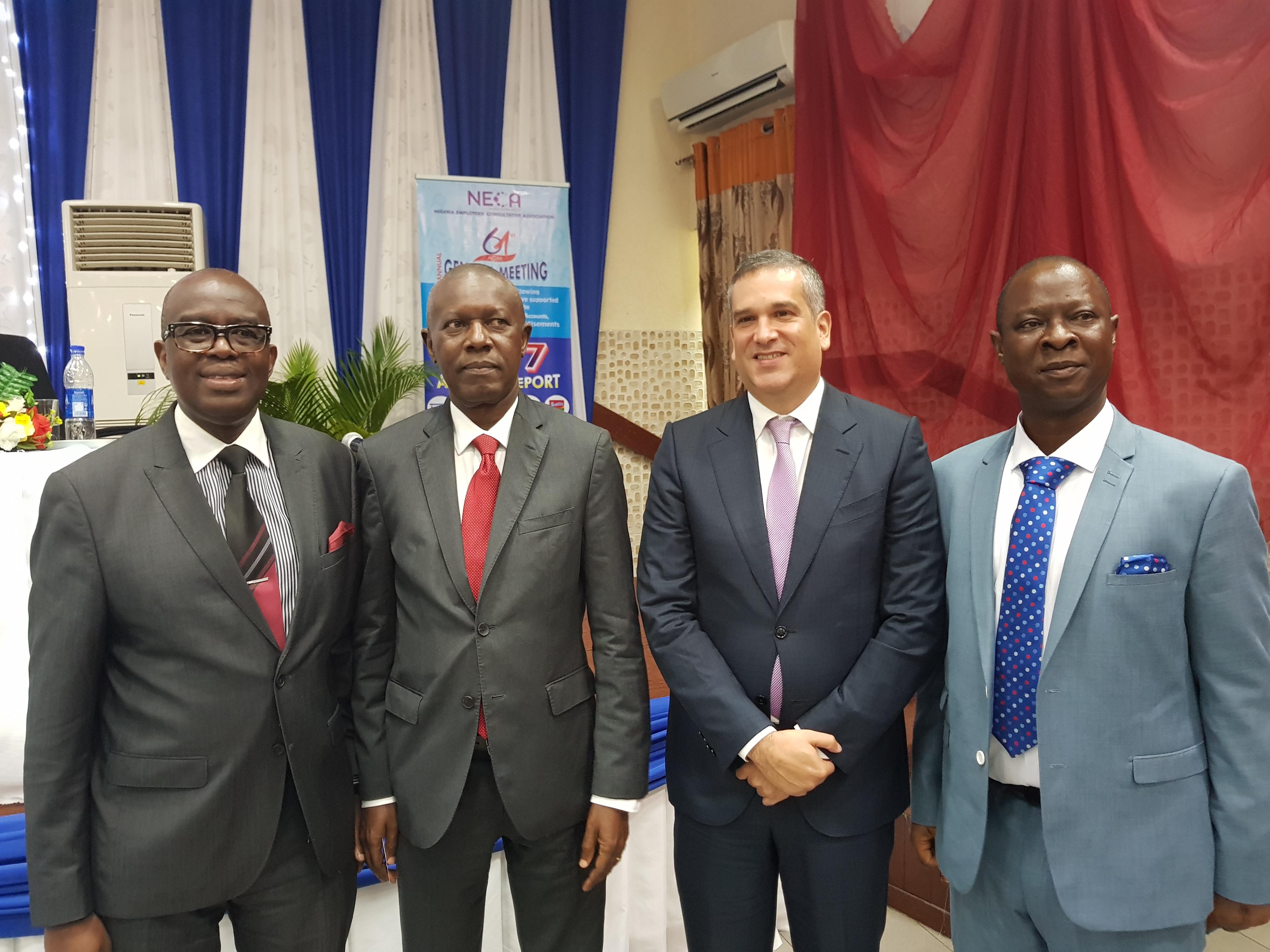 Photo of Nestlé Nigeria MD appointed NECA's 2nd VP