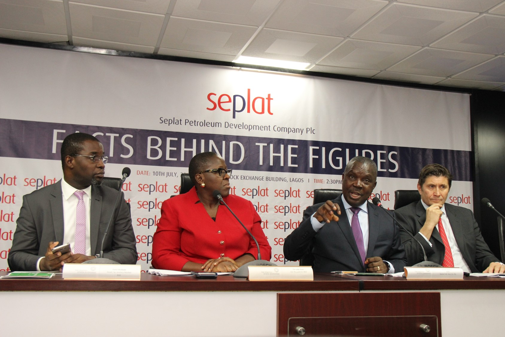 Photo News: Seplat Executives Address Nigerian Investors, Traders