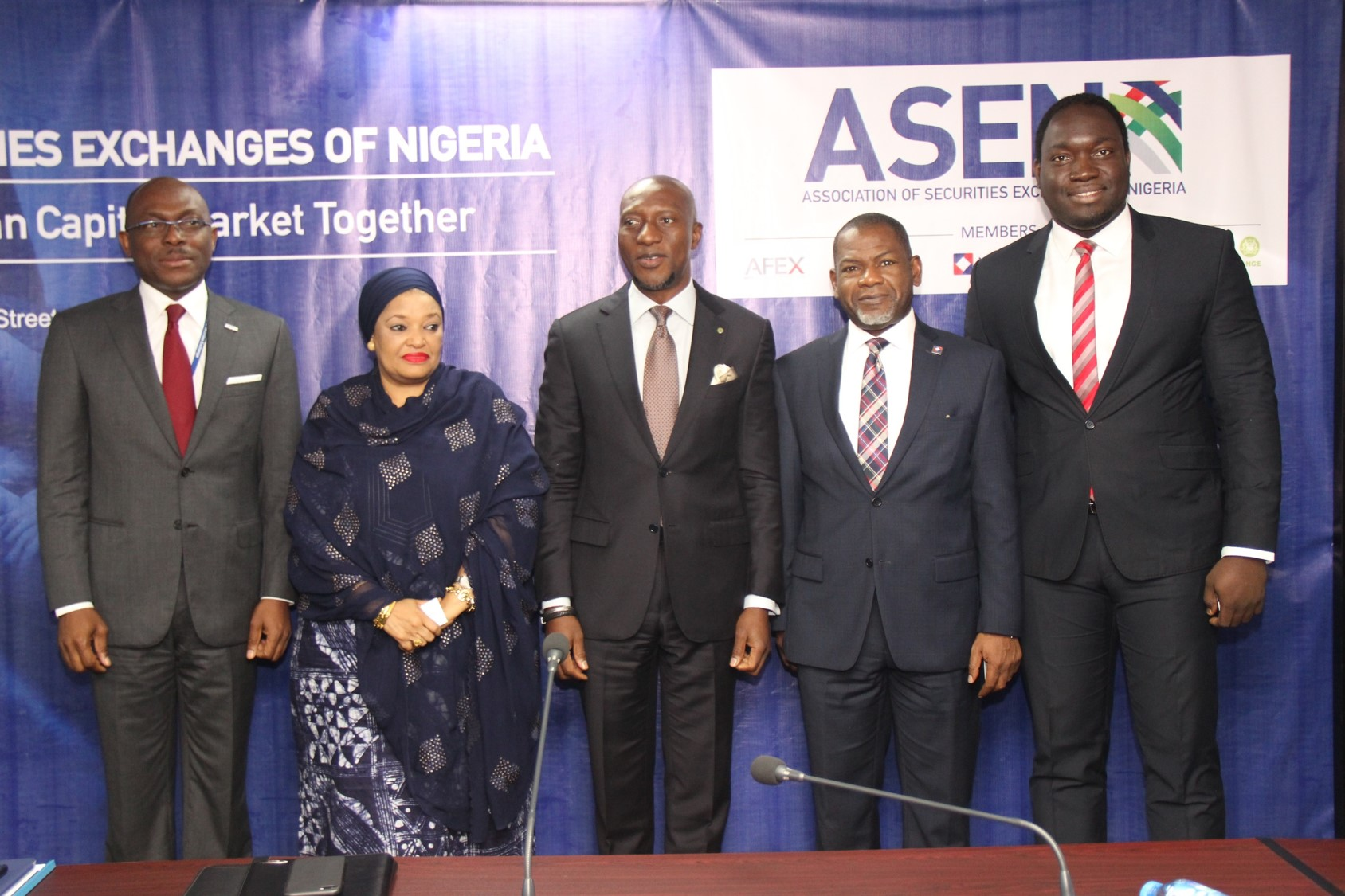 Photo News: Nigeria's Securities Exchanges Launch Trade Group