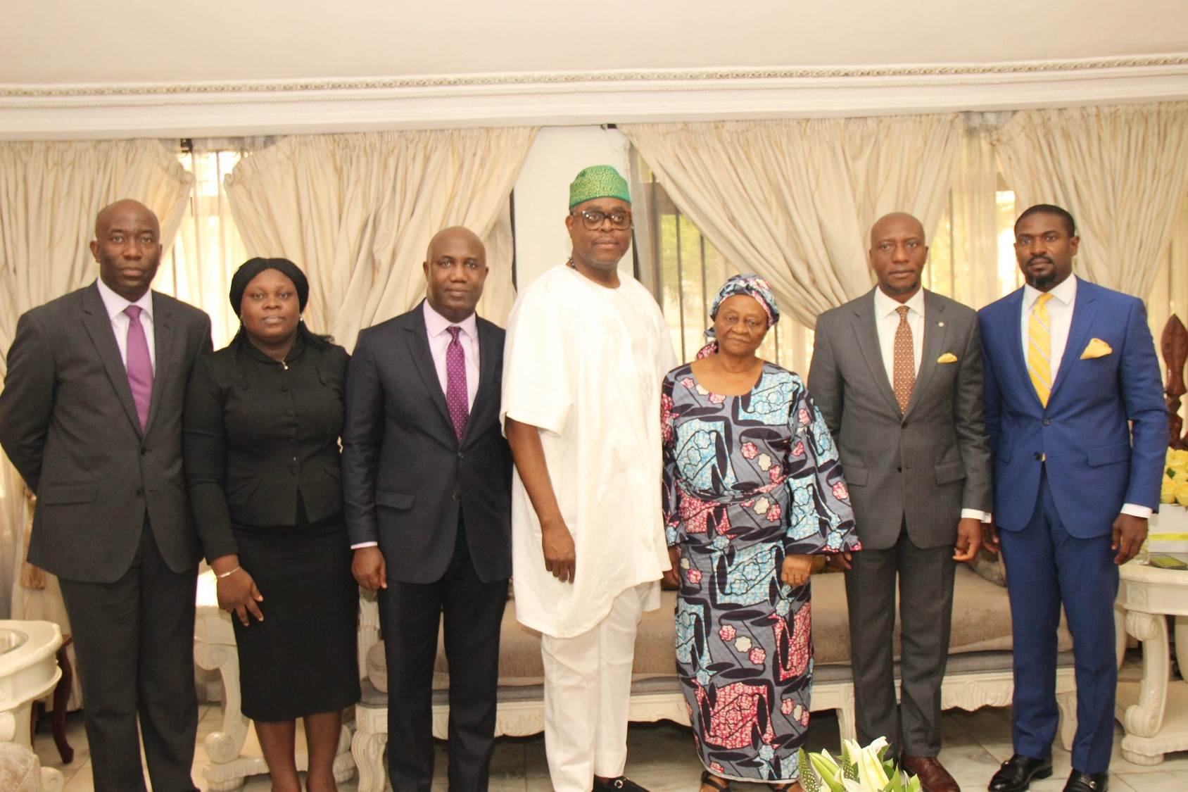 Photo News: NGSE Council On Condolence Visit To Hayford Alile Family